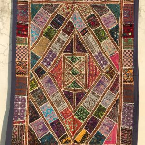 Handmade art & craft, patchwork designs from Rajasthan, rural craft of India