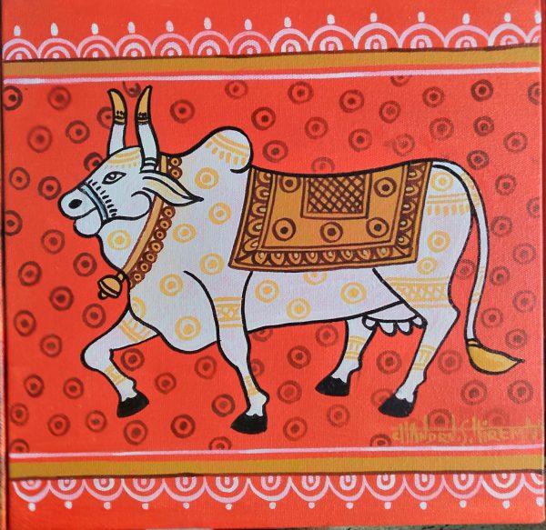 Handmade art & craft, art of India, canvas & acrylic paintings