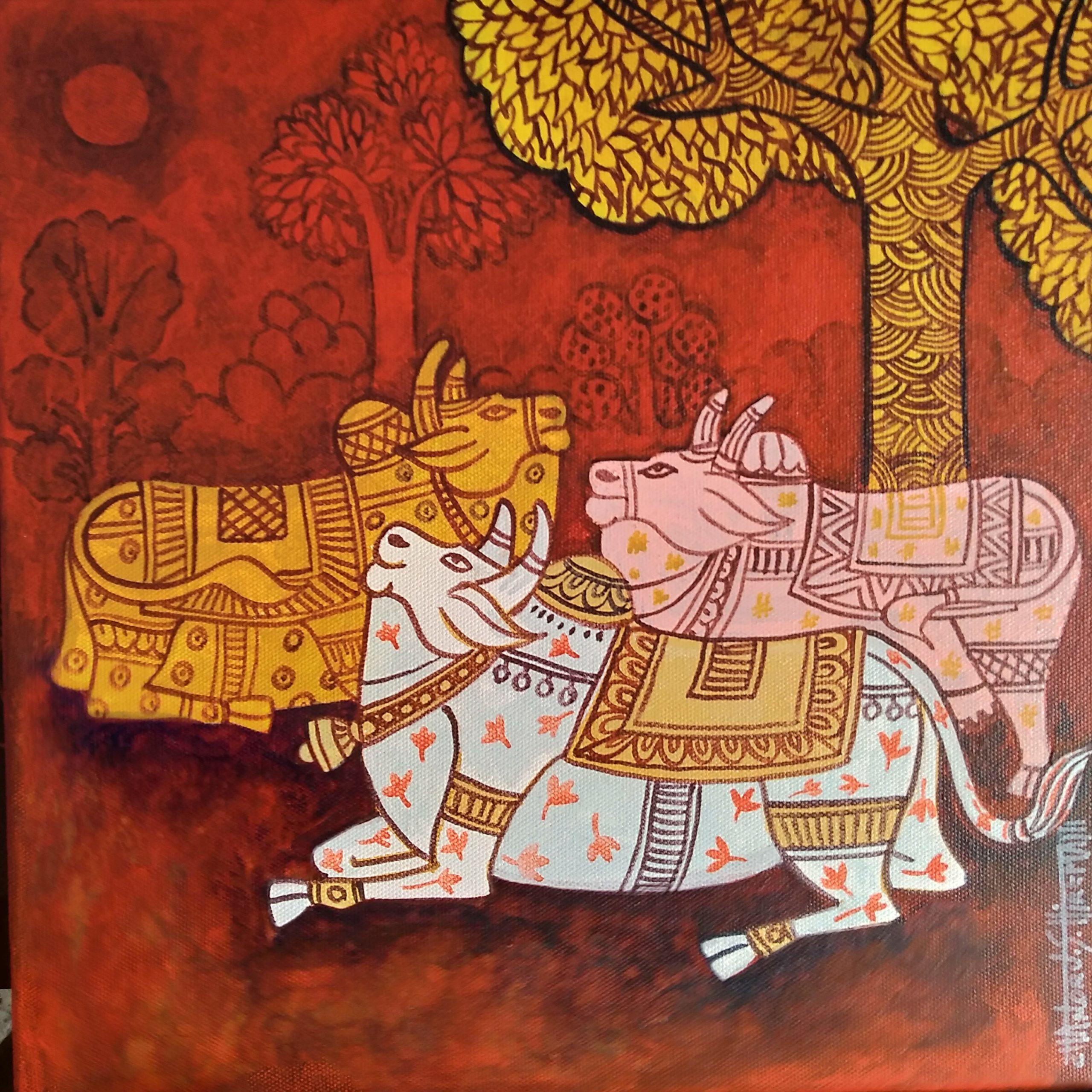Handmade art & craft, fine art, canvas